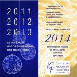 O CRP-16 deseja boas festas e um feliz 2014!