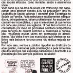 ATO DENUNCIA CAOS NA SAÚDE PÚBLICA EM VILA VELHA!