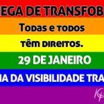 Dia Nacional da Visibilidade Trans: CRP-16 reafirma sua luta contra a transfobia