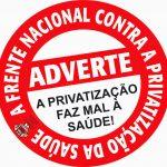 Psicologia na luta em defesa da saúde pública e contra projetos para privatizar o SUS