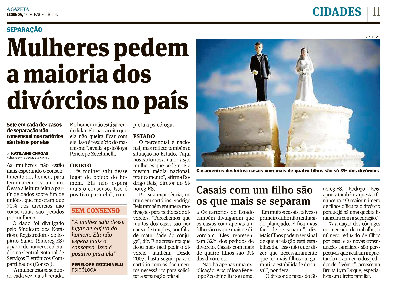 Mulheres pedem maioria dos divórcios no país_AG_CIDADES_PÁG 11_16.01.2017_1