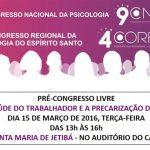 Santa Maria de Jetibá realiza o 1º pré-congresso livre!