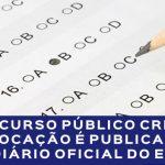 Concurso Público CRP-16: convocação é publicada no Diário Oficial do ES