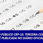 Concurso público CRP-16: terceira convocação é publicada no Diário Oficial