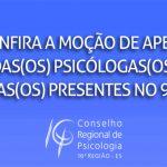 Confira a moção de apelo das psicólogas/os negras/os presentes no 9º CNP