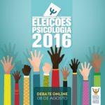 Eleições CFP: assista ao debate online das chapas que concorrem ao Conselho Federal no dia 08 de agosto