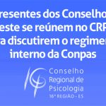 CRP-16 sedia reunião com representantes da Conpas do Sudeste