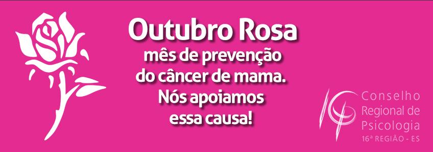 Outubro Rosa reforça importância da prevenção ao câncer de mama