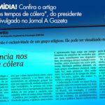 Combate à intolerância religiosa: CRP-16 é destaque na imprensa capixaba com artigo sobre o tema