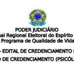 TRE-ES abre edital de credenciamento de psicólogas/os