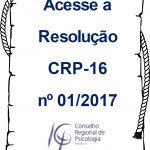 CRP-16 publica resolução sobre registro, cancelamento e responsabilidade técnica de PJ