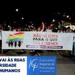 Em defesa da diversidade e dos direitos humanos, CRP-16 fortalece Marcha Vitória – Lutem pelos seus Direitos
