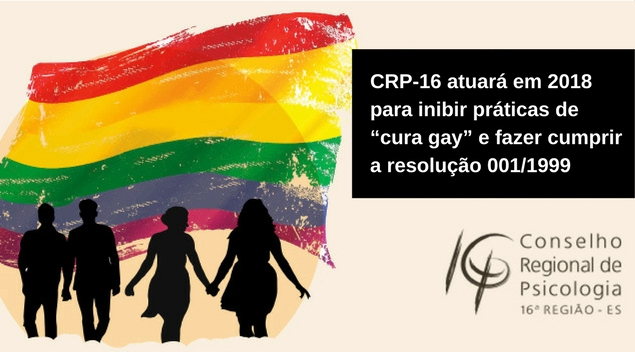 Banner site - atuação contra cura gay 2018