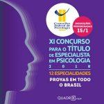 Prorrogadas inscrições para concurso de especialista em Psicologia