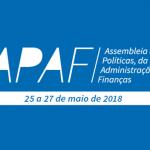 Acompanhe ao vivo a APAF de maio de 2018