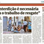 #CRP16namídia: Conselho é destaque em reportagem sobre a tentativa de suicídio na Terceira Ponte