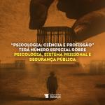 Ciência e Profissão sobre sistema prisional e segurança pública