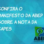 Confira o manifesto da Abep sobre a previsão do governo de cortar orçamento da Capes