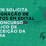CRP-16 solicita impugnação de pontos em edital de concurso público de Conceição da Barra