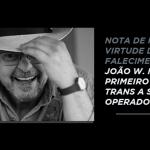 Nota de Pesar: João W. Nery