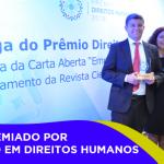 CFP é premiado por atuação em Direitos Humanos