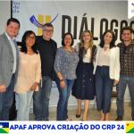 Apaf aprova criação do CRP-24