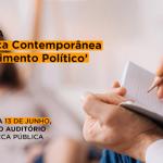 "CRP-16 realiza palestra ""A Clínica Contemporânea e o Sofrimento Político"", na quinta-feira, 13"