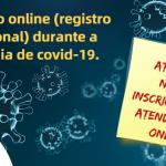 Inscrição online (para registro profissional) no CRP-16 deve ser feita EXCLUSIVAMENTE por e-mail