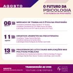 Mês da Psicóloga e do Psicólogo: confira as atividades já realizadas pelo CRP-16 em lembrança ao 27 de agosto